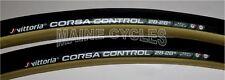 Vittoria Corsa G Control tubular 700 x 28 black / gum (tan) sidewall / 2 tires
