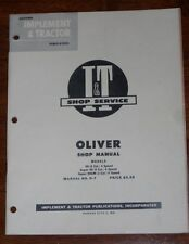 Oliver 99 Super 99 Super 99GM I&T Shop Manual O-7