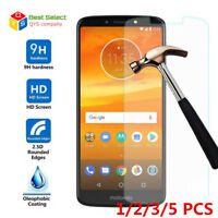 9H Tempered Glass Screen Protector Film For Motorola Moto G6 Plus G4 G5 E5 X4 E4