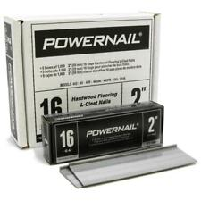 """Powernail 16 Gage 2"""" Cleats. Box of 5,000"""