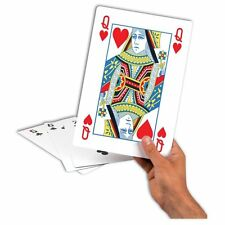A4 28cm Giant Pack Of Playing Cards Portable Game Outdoor Travel Vintage Fun