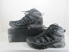 Salomon X Ultra Mid 2 GTX Hiking Boot Men's Lace-Up Outdoor Black Size 12