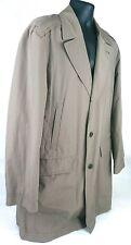 Hugo Boss Genuine Men's Rain / Trench Coat Jacket Size 42R US Lightweight MINT!