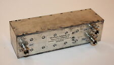 Microwave Solutions 800-960 MHz Bandpass Duplexer CD940 Tuned to 928.0/952.0