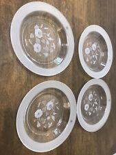 Four Avon Hummingbird Soup Bowls