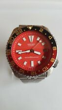 SEIKO 150M SCUBA DIVERS DATE AUTOMATIC MEN'S WATCH 7002-7000. RED/COKE GMT.