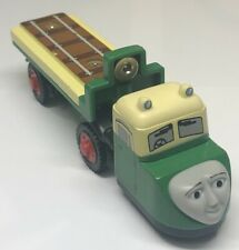 Thomas & Friends Wooden Railway Train Madge Flatbed Truck 2003 Learning Curve