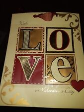 A VALENTINES DAY LARGE GIFT BAG