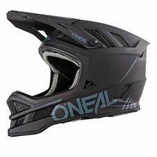 O'Neal Blade Fahrrad Downhill Fr Dirt Full Face Helm Solid schwarz L (59/60cm)