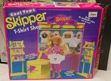 Barbie Set Cool Tops Skiper T-Shirt Shop Open Box But Complete
