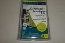 Tevrapet Activate Ii Extra Large Dog Flea & Tick Treatment 4 Month Supply New