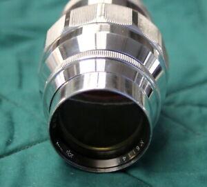 Jupiter11 f4 / 135mm M39 LTM 1961 build USSR lens
