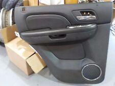 Cadillac Escalade  rear LH Door Trim Skin Panel Interior Black 2007-10