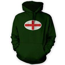 ANGLAIS Drapeau Badge Rugby 6 Nations à capuche England Sweat à Capuche Sport Homme Femme JA117