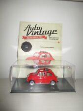FIAT 500 F 1965 AUTO VINTAGE CON FASCICOLO SCALA 1:24