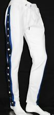 NEW MEN TRACK PANTS WITH SIDE STAR TAPING ANKLE ZIP 4 COLORS SIZE S-3XL