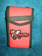 EUC - Nintendo DS Switch-N-Carry Red Case - Mario Brothers