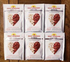 Beachbody Daily Sunshine Strawberry Banana Smoothies 6 packets