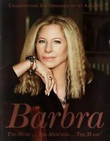 BARBRA STREISAND 2016 SIX DECADE U.S. TOUR CONCERT PROGRAM BOOK / NMT 2 MINT