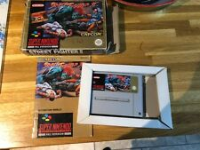 Snes street fighter 2 Super Nintendo boxed with book