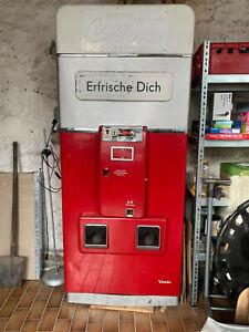 Coca-Cola Automat Sammler Stück, nicht funktionsfähig