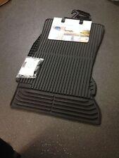 BMW Front Mat Set All Weather Genuine F10 5 Series 528i 520d 520i 51472350432