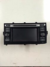 2015 TOYOTA PRIUS C CD PLAYER HEAD UNIT # 86140-52320   *TESTED! READY TO GO!