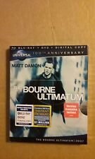 The Bourne Ultimatum (Blu-ray/DVD, 2011, Canadian; 100th Anniversary)