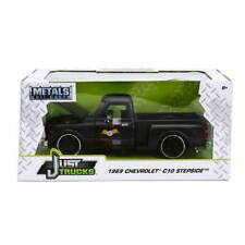 Just Truck Series: 1969 Chevy C-10 Stepside (Matte Black) 1/24 Scale