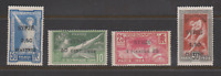 FRANCE COLONIES SYRIE 1924 JO JEUX OLYMPIQUES N* YT 122 123 124 125 COTE 168