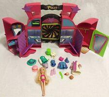 Polly Pocket Wardrobe/Closet, Doll and Accessories Lot Mattel 2002 EUC