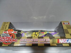Gold Spree #45 Racing Champions NASCAR 1:24 Scale Die-Cast Car Adam Petty
