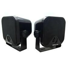 "HERDIO 4"" WATERPROOF MARINE BOX SPEAKERS - HP ETANCHES BATEAUX OU EXTERIEURS"