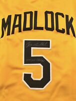 Bill Madlock Signed Retro Pirates Jersey COA MADLOCK SIGNED YELLOW JERSEY COA