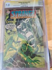Strange Adventures #215 CGC SS 7.0 signed by NEAL ADAMS