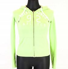 S ABERCROMBIE&FITCH WOMENS ZIP-UP HOODIE INT S