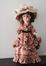 """Vintage dress costume outfit hat for antique doll 19"""" - 20"""""""