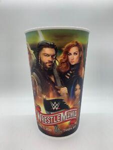WWE WRESTLEMANIA 36 SOUVENIR CUP ~ TAMPA BAY CENA GOLDBERG LESNAR REIGNS & MORE