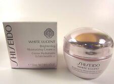 Shiseido White Lucent Brightening Moisturizing Cream w  Size 50mL / 1.7 Oz. New