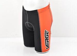 Verge Men's Elite ST Cycling Short Orange/Black Small New