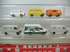 n350-0, 5 #6X Wiking H0 Models: Iveco, Mercedes-Benz MB, IVECO