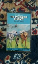 the incredible journey audio cassette tape