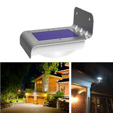 16-LED Solar Power Motion Sensor Garden Security Lamp Waterproof Outdoor Light