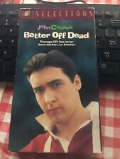 Better Off Dead (Vhs, 1997) - used but good condition