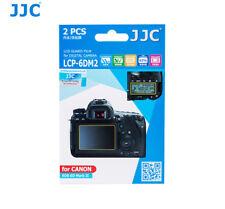 JJC LCP-6DM2 LCD Screen Guard Protector PET Film for CANON EOS 6D Mark II x 2pcs