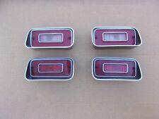 NOS MoPar 1972 72 Dodge Dart Swinger Custom TAIL Light LENS SET 4 Chryco