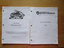 American Sportworks Owner Operators Manual & Parts Manual 1050L Fun Kart