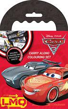 Disney Cars 3 Carry Along Colouring Set Travel Activity With Crayons Pixar CRCAR