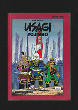 USAGI YOJIMBO BOOK TWO.SIGNED FIRST EDITION WITH SKETCH.NICE