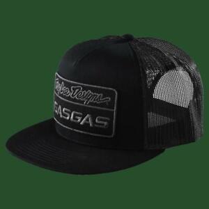 Troy Lee Designs Gasgas Black Team Snapback Stock Hat size OS